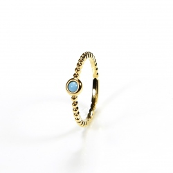 Bague Alliance Stone Turquoise