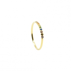 Birdy - Bague Bride Multicolor