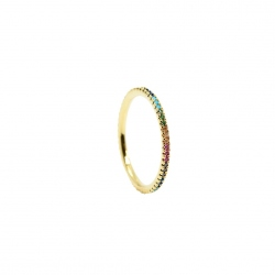 Birdy - Bague Alliance Zc Multicolor