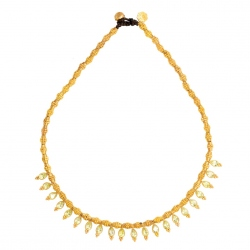 Bohemian Rhapsodie - Collier Sole Lemon Topaze
