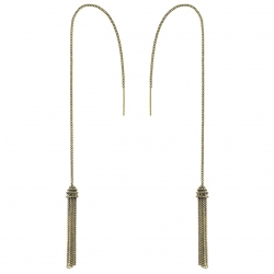 Boucles d'Oreilles MLS 254 ANTIQUE GOLD