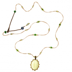 Sharing - Collier Short Tibet Lemon Topaze