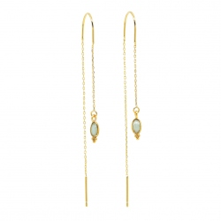 Vic & max - Boucle D'oreille Thelma Amazonite