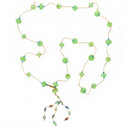 Sharing - Collier Pampilles Chrysoprase