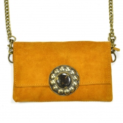 Pochette PM Moutarde