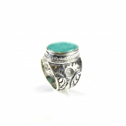 Bague Big Turquoise