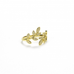 Birdy Leaves Ring