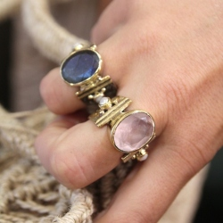 Bague Agathe Quartz rose
