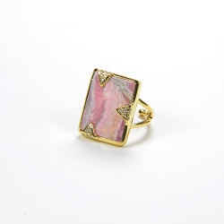 Bague rectangle